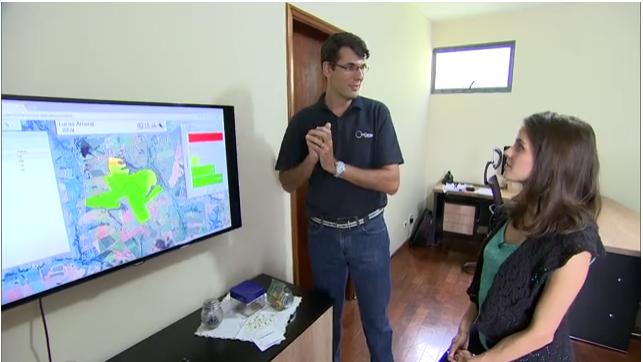 O CEO da InCeres, Leonardo Menegatti, em entrevista ao programa Pequenas Empresas & Grandes Negócios, da Rede Globo
