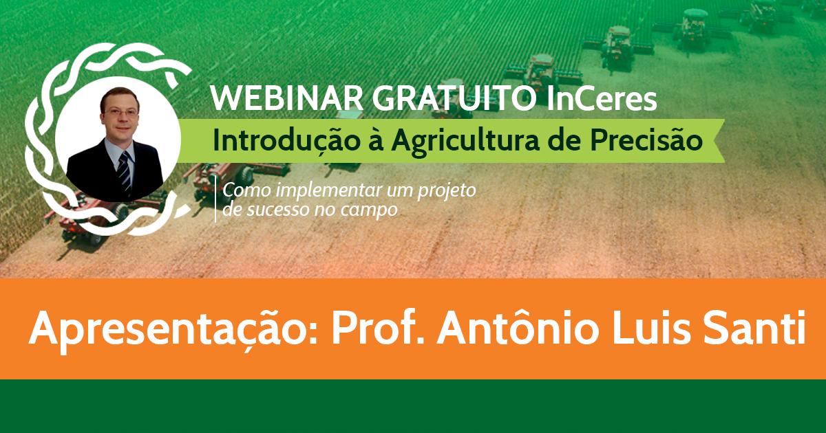 Introdução à Agricultura de Precisão - Prof. Santi (UFSM)