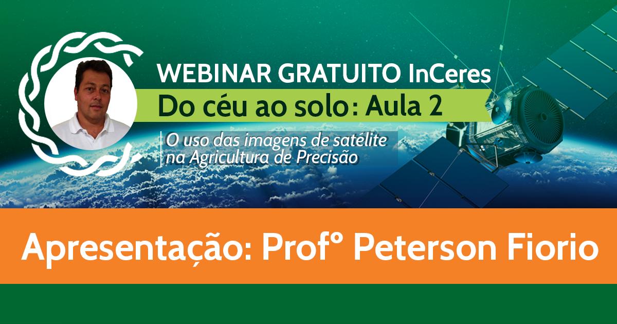 Do céu ao solo, o uso das imagens de satélite na AP (Aula 2) -  Profº Peterson Fiorio (ESALQ/USP)