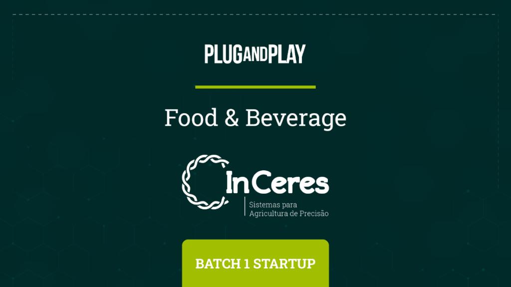 InCeres selecionada pela Plug And Play