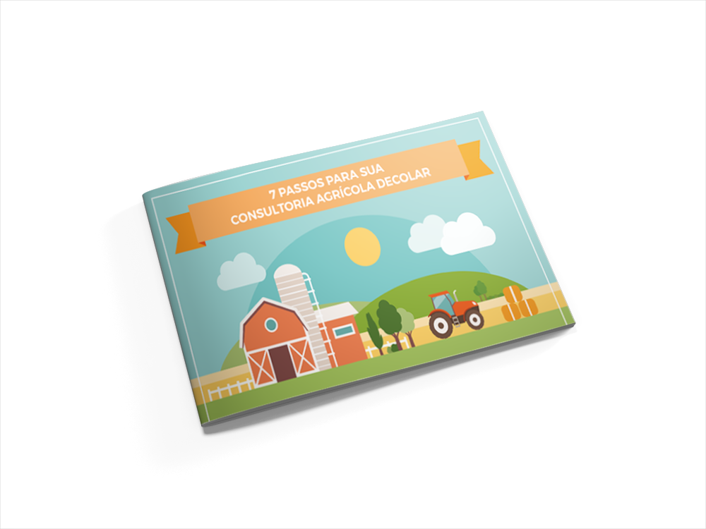 [INFOGRÁFICO] 7 Passos para sua Consultoria Agricola Decolar